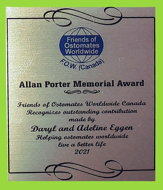 Allan Porter Award