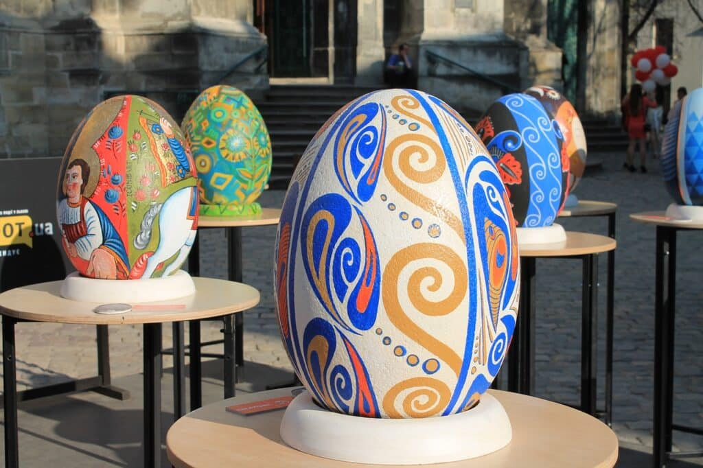 easter eggs, exhibition, the painted eggs-3322221.jpg
